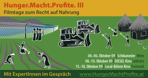 Hunger.Macht.Profite. III - FIAN Filmtage zum Recht auf Nahrung