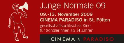 Junge Normale 09 @ Cinema Paradiso – gesellschaftspolitisches Kino für SchülerInnen